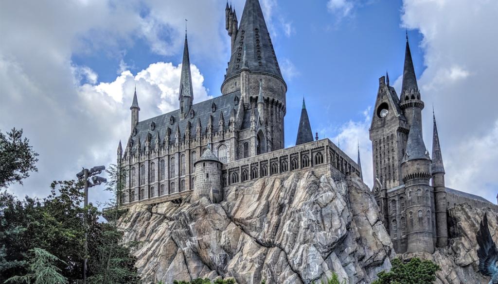 Hogwarts Castle by Darshan Patel